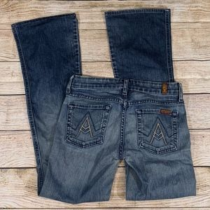 """7 For All Mankind """"A"""" Pocket Jeans Size 25"""